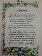 livre d or pour mariage texte poème sur la retraite à offrir calligraphiés et enluminés personnalisés avec le