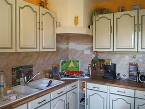 deco cuisine repeinte With exemple de cuisine repeinte