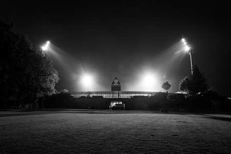stadion  boellenfalltor bei flutlicht sw christoph