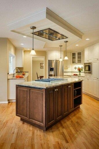 Kitchen Island Vent Ideas by Ceiling Mount With False Ceiling Kitchens In 2019