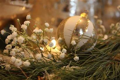 Christmas Gold Candle Snow Stages Inspiration Added