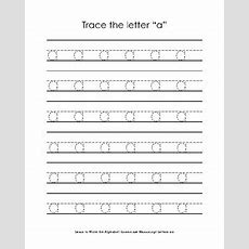 Learn To Write The Alphabet Lowercase Manuscript Letters Az Tpt