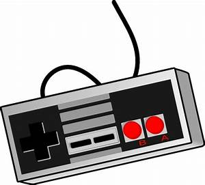 Bhspitmonkey Old School Game Controller Clip Art at Clker ...