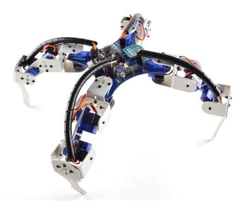 Quadruped Robot Project: Leggeduino   RobotShop Community