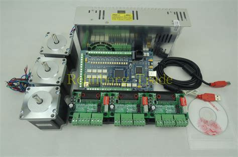 buy mach usb cnc router kit  axis pcs