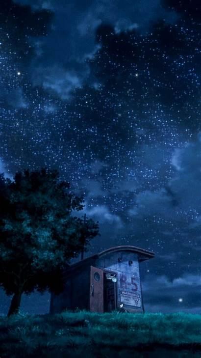 Anime Scenery Dark Wallpapers Background Seiten