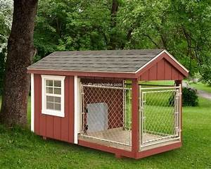 a frame chicken coops and dog kennels wooden amish mike With dog house and kennel