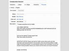 Esna iLink for WebEx User Guide Intercall