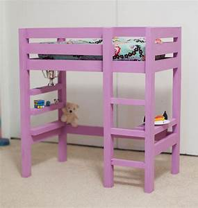 How to Build 18 Doll Loft Bed Plans PDF Plans