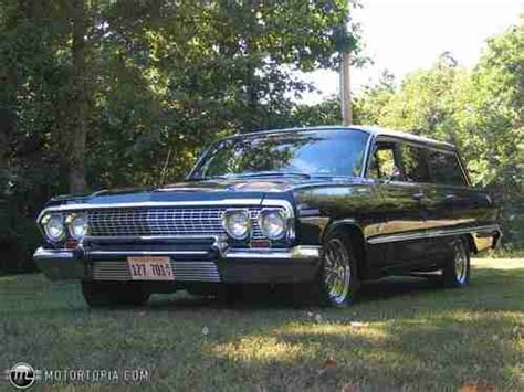 Buy Used 1963 Chevrolet Impala Station Wagon Street Rod