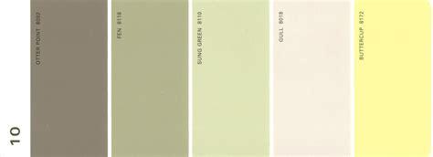 martha stewart paint 5 color palette card 10