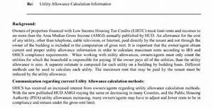 Hud Utility Allowance Spreadsheet Printable Spreadshee Hud