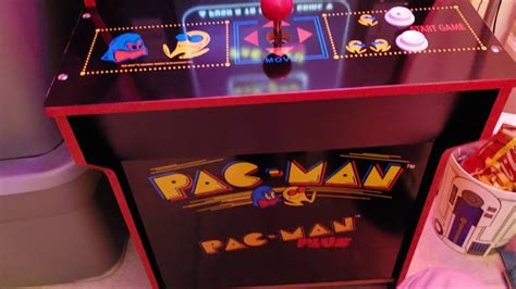 pac man arcade  review youtube