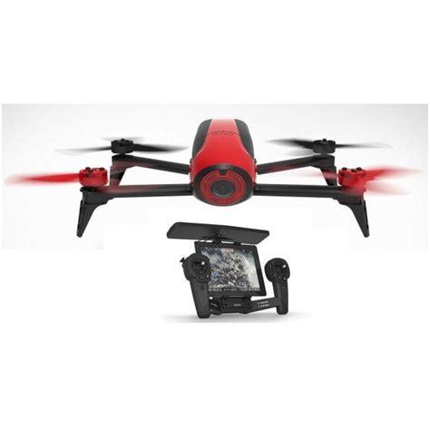 multicoptero parrot bebop drone  rojo skycontroller zona outdoor