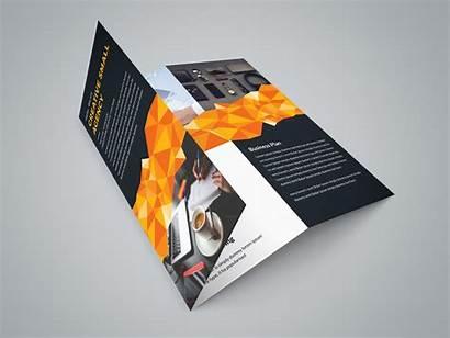 Brochure Fold Tri Template Professional Tallinn Brochures