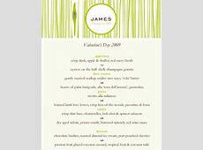 FiveCourse Prix Fixe Valentine's Menu at James Restaurant
