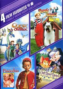 4 Film Favorites: Family Movie Night Collection (Quest for ...