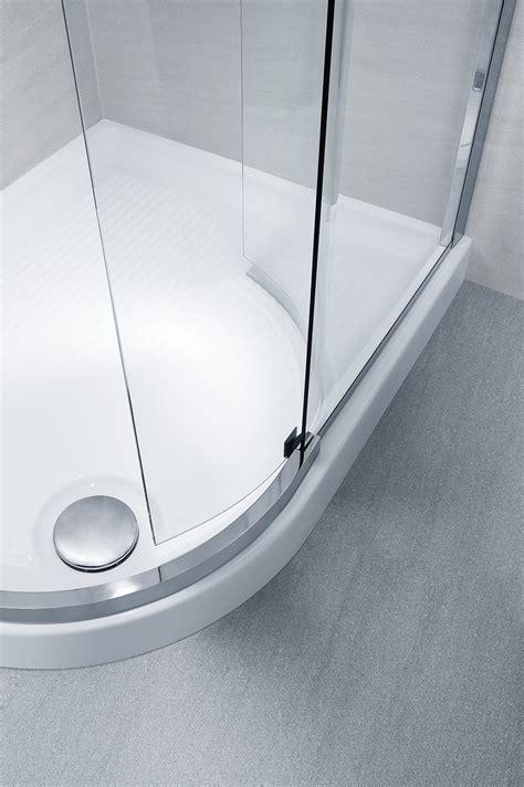 calibe doccia cabina doccia scorrevole con cristalli curvi silanus