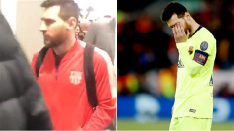 What Lionel Messi Said To Fans Who Confronted Him At ...