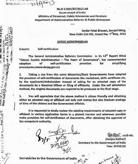 certification  documents   attestation