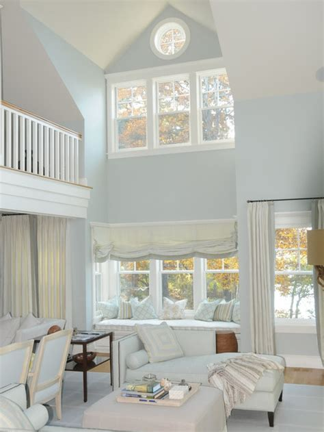 blue gray paint houzz