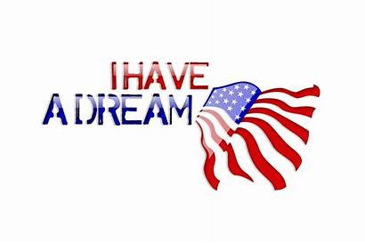 Luther Martin King Jr Dream Closed American