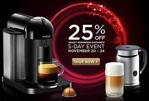 Machine Nespresso Promo : nespresso sale when are nespresso machines on sale ~ Dode.kayakingforconservation.com Idées de Décoration