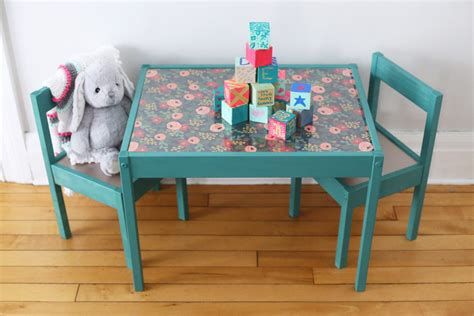 my life as desk and chair set diy kids table makeover the sweetest occasion