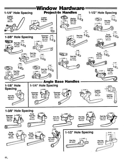 window hardware project   angle base handles wielhouwer replacement hardware specialists