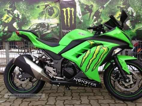 kawasaki ninja  abs monster edition unique