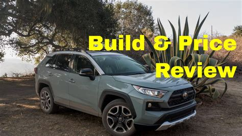 toyota rav adventure build price review colors