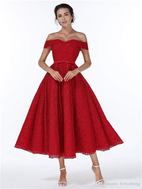 2018 2017 christmas new year dress bridesmaid lace red