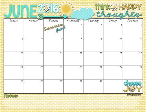 summer planning calendars september june 2016 calendar let 39 s some summer inkhappi
