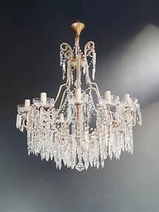 Beaded, Crystal, Chandelier, Antique, Ceiling, Lamp, Lustre, Art, Nouveau, 2, Pieces, Pair, For, Sale, At, 1stdibs