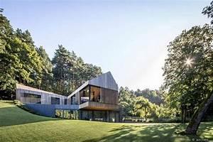 Maison Contemporaine En Lituanie Par Le Studio Arches