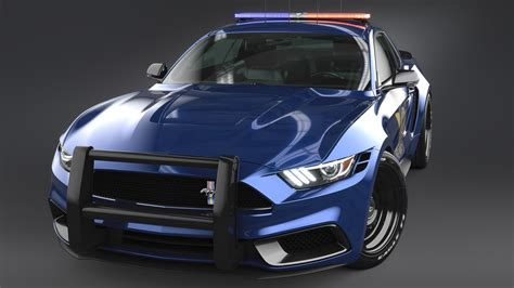 2017 Ford Mustang Notchback Design Police 3 Wallpaper