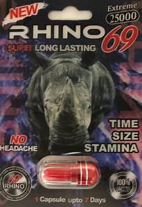 Rhino 69 25000 Extreme Men Sexual Supplement Enhancement Pill