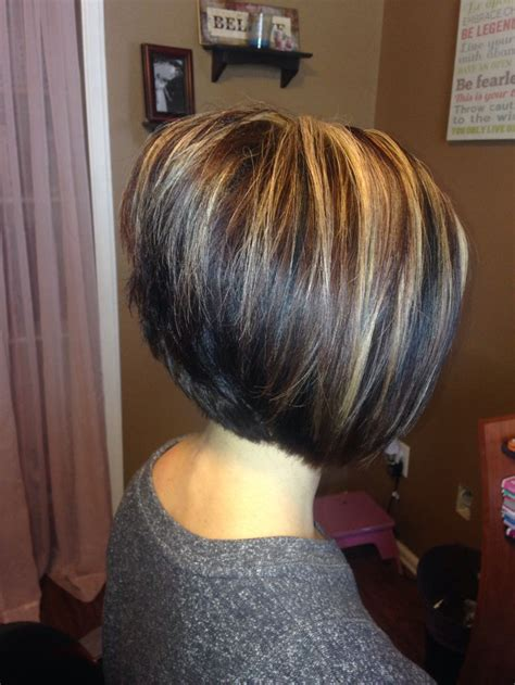 stacked bob beauty pinterest bobs  hair