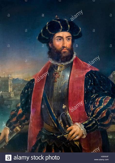 vasco e vasco de gama portrait of the portuguese explorer vasco
