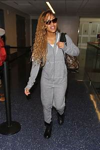 MEAGAN GOOD at LAX Airport in Los Angeles 01/18/2017 ...