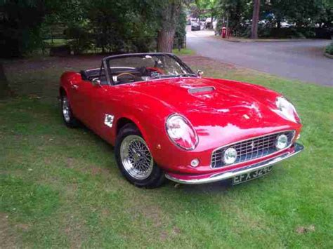 351 examples were built between 1963 and late 64. Ferrari 250 gt california spyder 1963 recreation. car for sale
