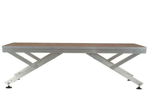 pedane per palchi unistage pedane per palchi pieghevoli di alluminio tonon