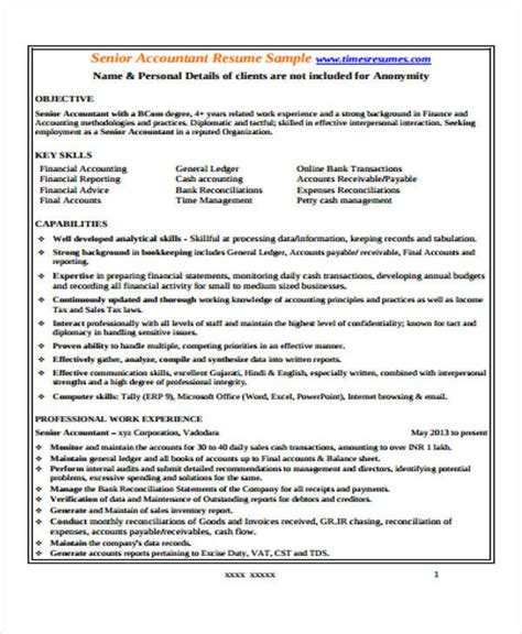 resume of accountant pdf 28 images 33 accountant