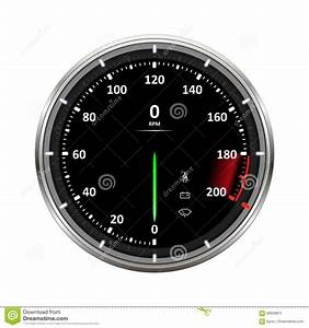 Speedometer Vector Illustration Stock Vector - Image: 69928874