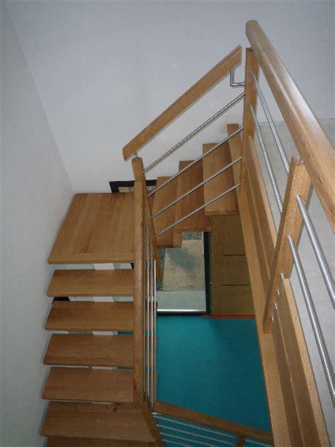 escaliers bois et tubes inox menuiserie raguet blain