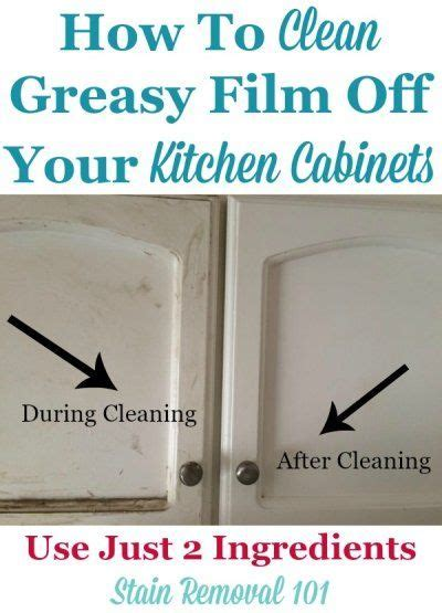 how to clean greasy kitchen cabinets clean kitchen cabinets off with these tips and hints