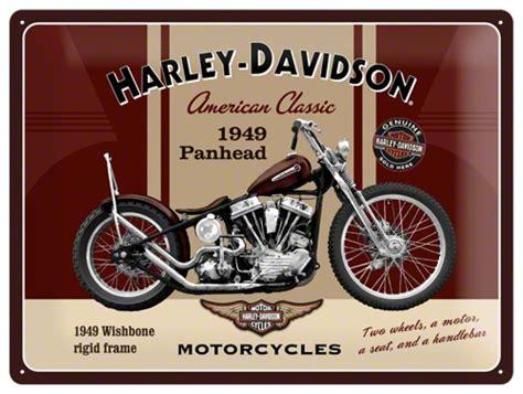 Nostalgic Art Tin Sign Harley Davidson