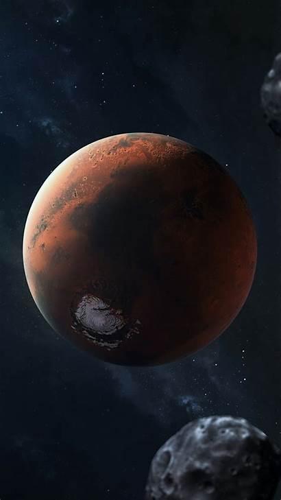 Solar System Planets Wallpapers Galaxy Mars Fantasy