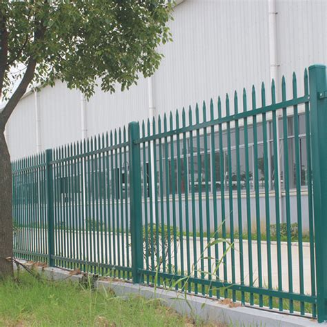 cheap metal garden fence modern steel fence design philippines shanghai bodun