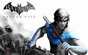 Nightwing - Arkham City by xcursedgravex on DeviantArt
